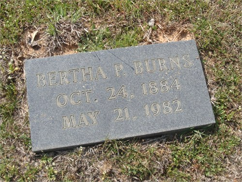 Bertha Porter Burns