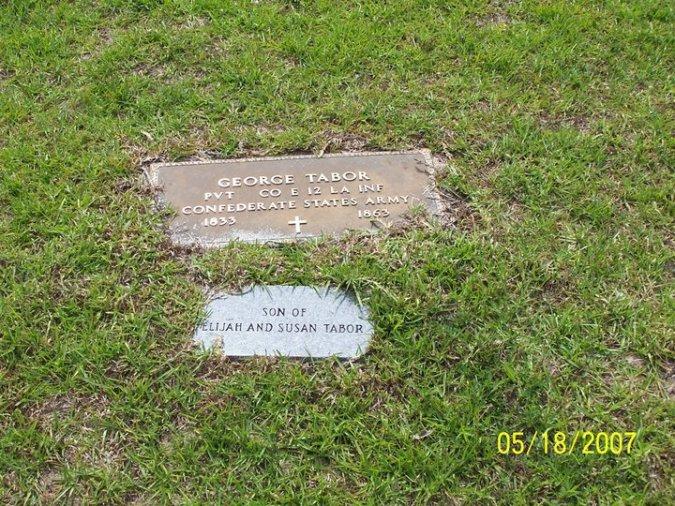 George W. Mason TaborShiloh Cemetery