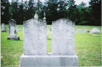 James Russell Coplen and Sarah Ann Elizabeth Eady