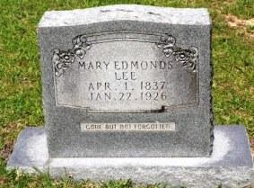 Mary Edmonds Lee