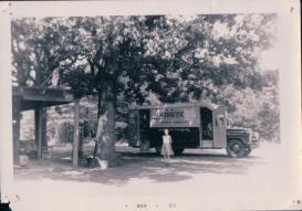 Union Parish Bookmobile 1950s