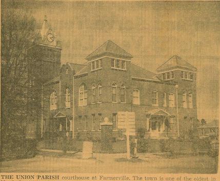 Union Parish Courthouse-1952
