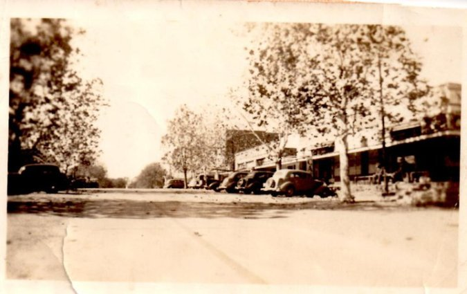 Downtown Bernice in 1930's