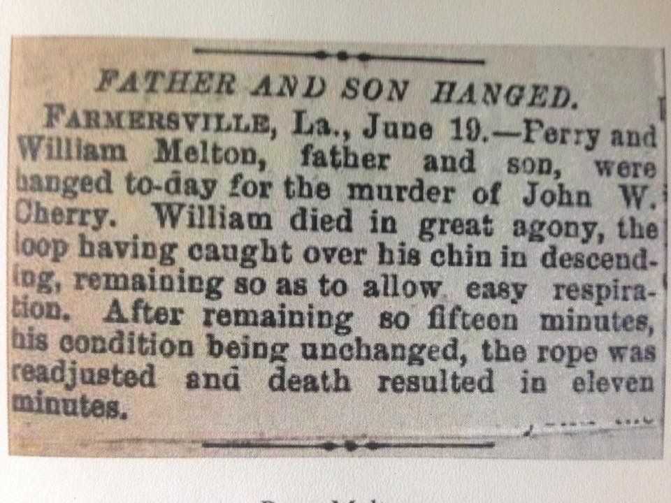 The Murder of John W  Cherry | Shiloh to Canaan