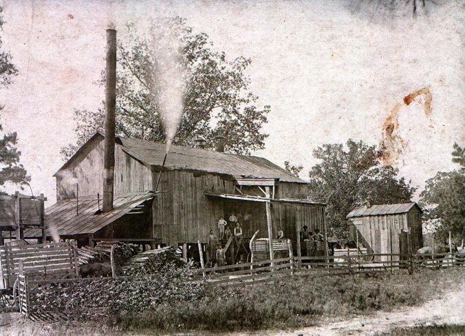 1906 Union Parish Louisiana Cotton Gin