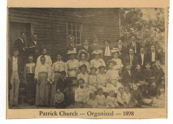 Patrick Church Organized 1898