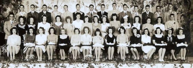 1944 Farmerville High School Graduates