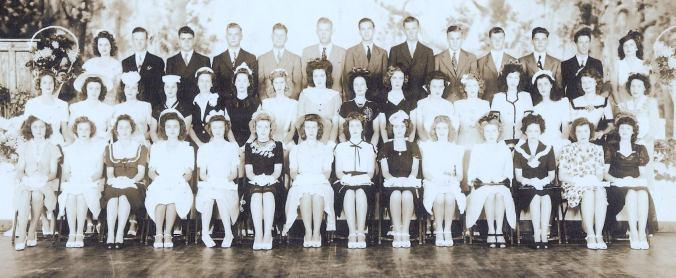 1945-farmerville-high-school-graduates