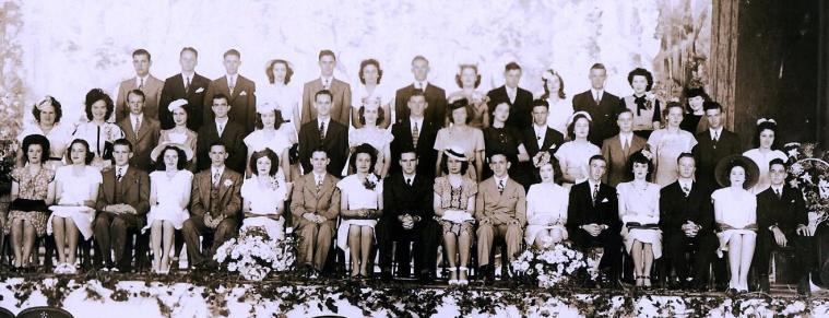 1946 Farmerville High School Graduates