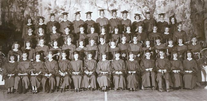 1948 Farmerville High School Graduates
