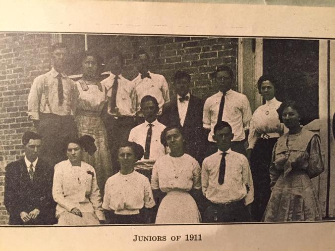 Bernice High School Juniors 1911