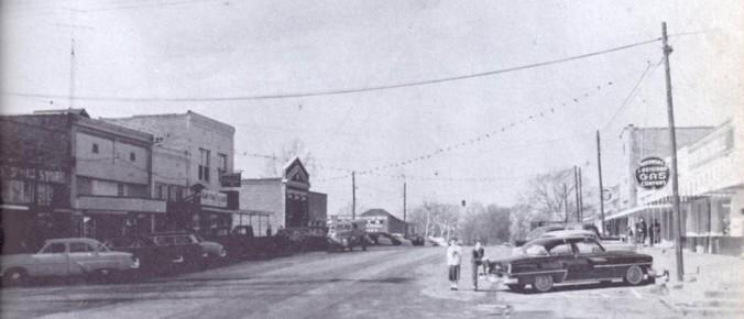 Bernice Main Street Banner