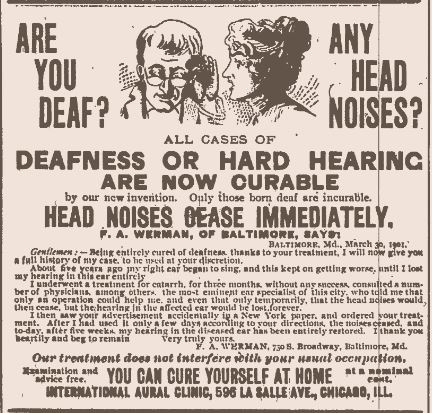 Are You Deaf.