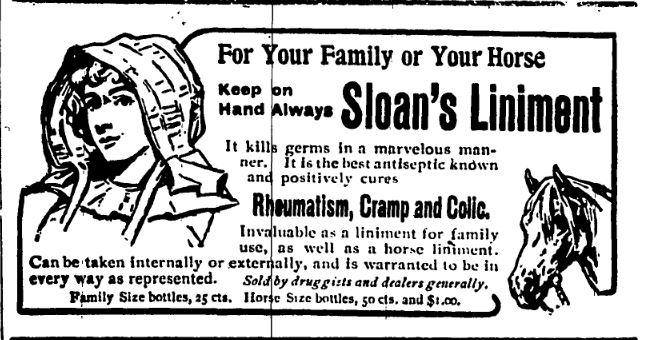 Sloan's Liniment
