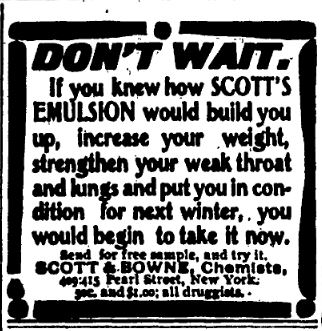 Scotts Emulsion