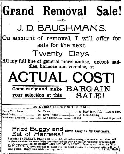 J D Baughman
