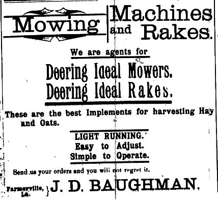Mowing Machines