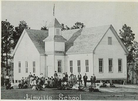 Linville School 1908