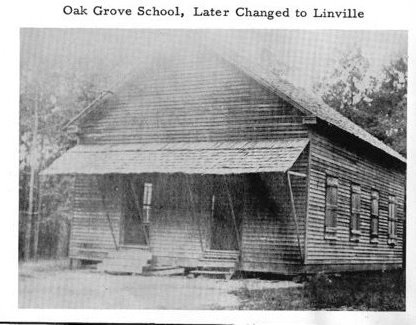 Linville School House 1895