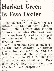Herbert Green 1939