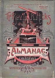 Rev Irl R Hicks Almanac 1904