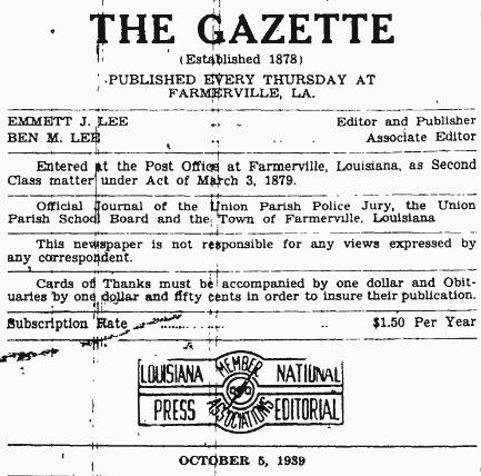 The Gazette Oct 5 1939 2
