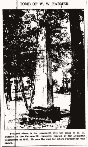 Tomb of W W Farmer