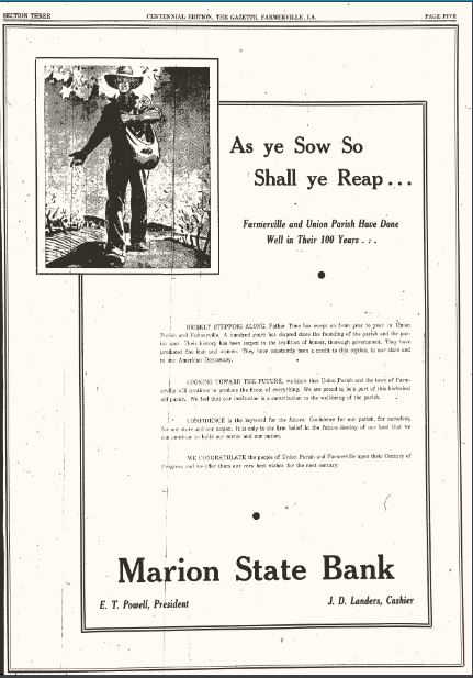 Marion State Bank